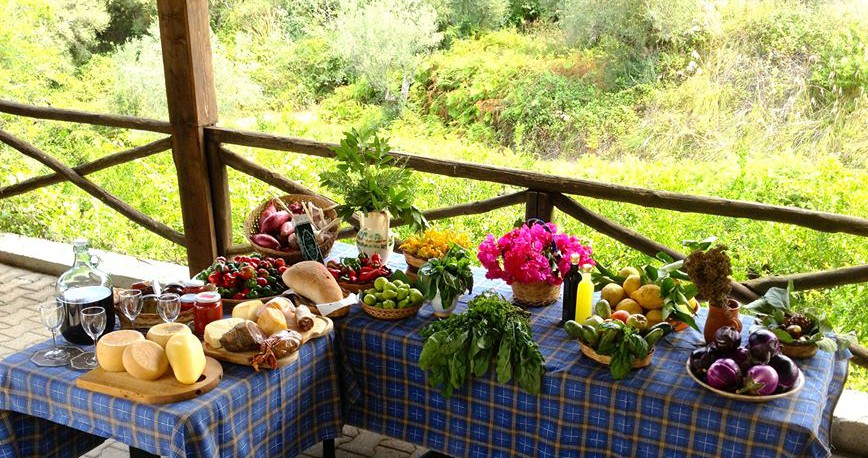 The Fresh Produce of the Ferragosto a Tropea