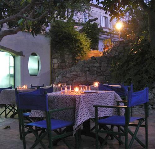 ristorante romantico tropea